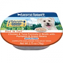 Deals List: Natural Balance Delectable Delights Wet Dog Food, 2.75 Ounce Cups (Pack of 24)