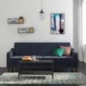 Deals List: Novogratz Vintage Tufted Velvet Split Back Sofa Bed