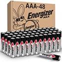 Deals List: Energizer AAA Batteries (48 Count), Triple A Max Alkaline Battery