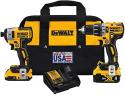 Deals List: DEWALT XR 2-Tool 20V Brushless Power Tool Combo Kit w/Hard Case
