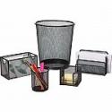 Deals List: Staples Black Wire Mesh Desk Collection 5-Piece Accessory Kit