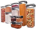 Deals List: Rubbermaid Brilliance Pantry Organization & Food Storage Containers with Airtight Lids, Set of 10 (20 Pieces Total)