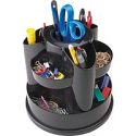 Deals List: Staples 10604-CC 10 Compartment Rotating Desk Organizer