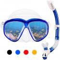 Deals List: Omorc Anti-Fog Tempered Glass Snorkel Kit (Blue)