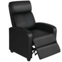 Deals List: Easyfashion Single Recliner Chair Modern Sofa Recliner