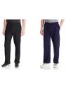 Deals List: 2-Pack of Fruit of the Loom Men's Fleece Sweatpants (Black/Navy)