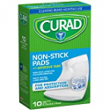 Deals List: Curad Non-Stick Pads, 2 Inches X 3 Inches with Adhesive Tabs, 10 Count