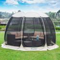Deals List: Alvantor Screen House Room Outdoor Camping Tent Canopy Gazebos 4-15 Person for Patios, Instant Pop Up Tent, Not Waterproof