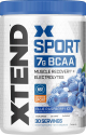 Deals List: XTEND Sport BCAA Powder Blue Raspberry Ice   Electrolyte Powder for Recovery & Hydration with Amino Acids   30 Servings