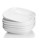 Deals List: Sweese 120.001 Porcelain Square Salad Pasta Bowls - 22 Ounce - Set of 6, White