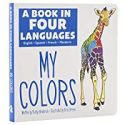 Deals List: A Book in 4 Languages My Colors Board Book