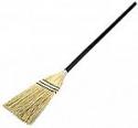 Deals List: Rubbermaid Commercial Lobby Corn Broom, Wood Handle, Brown (FG637300BRN)
