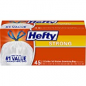 Deals List: Hefty Strong Tall Kitchen Trash Bags, Unscented, 13 Gallon, 45 Count