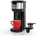 Deals List: Dnsly Coffee Maker Single Serve 2 in 1 Dual Hot Machine