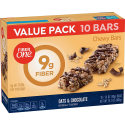 Deals List: Fiber One Fiber 1 Oats and Chocolate Bar Value Pack, 1.4 OZ 10 Count