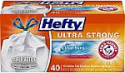 Deals List: Hefty Ultra Strong Tall Kitchen Trash Bags, Clean Burst Scent, 13 Gallon, 40 Count