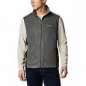 Deals List:  Columbia Men's Steens Mountain Vest (Grill, Black) (Medium)