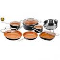 Deals List: Tramontina Primaware 18 Piece Non-stick Cookware Set, Red