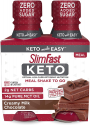 Deals List: 4-Pack of SlimFast Keto Ready to Drink Meal Replacement Shakes (11oz each, Chocolate)