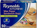 Deals List: 50-Ct Reynolds Kitchen Wax Paper Sandwich Bags