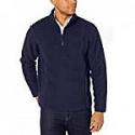 Deals List: Amazon Essentials Men's Sherpa Fleece Quarter Zip Pullover