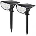 Deals List: 2-Pack JESLED Solar Landscape Spot Lights 14 LED