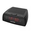 Deals List: LEETAC AM & FM Radio Dual Alarm Clock with LED Display