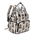 Deals List: Pipi bear Diaper Bag Backpack Stylish Cartoon