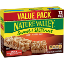Deals List: Nature Valley Cashew Sweet & Salty Nut Granola Bars 12 Piece Box, 14.8 Ounce