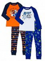 Deals List: 4-Pc Wonder Nation Toddler Boys' Cotton Long Sleeve Pajamas Set