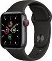 Deals List: Apple Watch SE (GPS + Cellular, 44mm) - Space Gray Aluminum Case with Black Sport Band