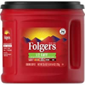 Deals List: Folgers 1/2 Caff Half Caffeinated Medium Roast Coffee 25.4Oz