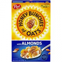 Deals List: Post Honey Bunches of Oats with Crispy Almonds, Whole Grain, Low Fat Breakfast Cereal 18 oz. Box