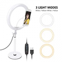 Deals List: Neewer LED Ring Light, Table Top 10-inch USB Ring Light