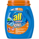 Deals List: All Mighty Pacs Laundry Detergent 4 in 1 with Oxi, Tub, 60 Count