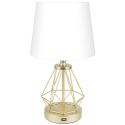 Deals List: CO-Z Modern Table Lamp with USB Input & Touch On/Dim Control