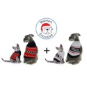 Deals List: Blue Striped Genius Pet Sweater + Fetchwear Blue Pet Sweater