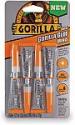 Deals List: Gorilla Clear Glue Minis, Four 3 gram Tubes, Clear, (Pack of 1)