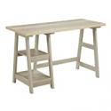 Deals List: Convenience Concepts Designs2Go Trestle Desk, Weathered White