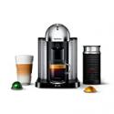Deals List: Nespresso Vertuo Coffee and Espresso Machine by Breville with Aeroccino, Chrome
