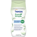 Deals List: Coppertone Pure & Simple SPF 50 Water Resistant Hypoallergenic Sunscreen Lotion (6 fl. oz. Bottle)