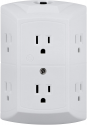 Deals List:  GE 6-Outlet Grounded Outlet Wall Tap w/ 15A Circuit Breaker & Reset Button