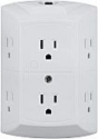 Deals List: GE 56575 6-Outlet UL Certified Grounded Wall Tap w/ Resettable Circuit Breaker