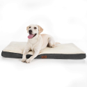 Deals List: Bedsure Large Orthopedic Foam Dog Bed for Small, Medium, Large and Extra Large Dogs/Cats Up to 50/75/100lbs - Orthopedic Egg-Crate Foam with Removable Washable Cover - Water-Resistant Pet Mat
