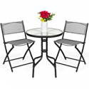 Deals List: Best Choice Products 3-Pc Patio Bistro Dining Furniture Set