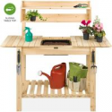 Deals List: BCP Wood Garden Potting Bench w/Sliding Tabletop