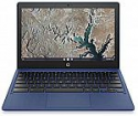 Deals List: HP Chromebook 11-inch Laptop, Touchscreen, MediaTek MT8183, MediaTek Integrated Graphics, 4 GB RAM, 32 GB eMMC Storage, Chrome (11a-na0060nr, Indigo Blue)