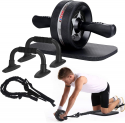 Deals List: EnterSports 6-in-1 Ab Roller Kit w/ Knee Pad, Resistance Bands & Pad Push Up Bars