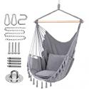Deals List: Y- STOP Hammock Chair Hanging Rope Swing-Max 330 Lbs-2