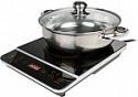 """Deals List: Rosewill 1800 Watt Induction Cooker Cooktop w/ 10"""" Stainless Steel Pot"""